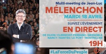 EN DIRECT -  MÉLENCHON : MULTI-MEETING HOLOGRAMME - #LaForceDuPeuple